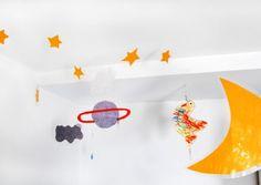 Decoración para techo de la habitación infantil