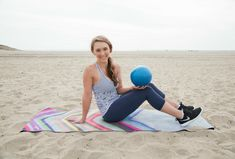 Lower Ab Pilates {with a Mini-Ball} and How I Fuel My Workouts!