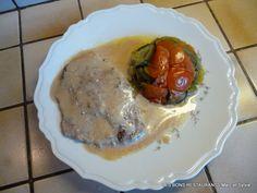 Biftecks aux anchois et au Noilly Prat!