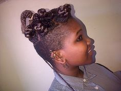 Long Braids, Side Cuts, Piercings, Crochet Earrings, Hairstyle, Rock, Fashion, Moda, Piercing