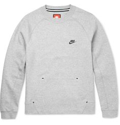 Cut from <a href='http://www.mrporter.com/mens/Designers/Nike'>Nike</a>'s soft, breathable Tech Fleece, this sweatshirt is a supremely comfortable option. The pared-back design makes it an easy choice whether you're hitting the gym or relaxing at home. Wear it with dark denim or athletic shorts.