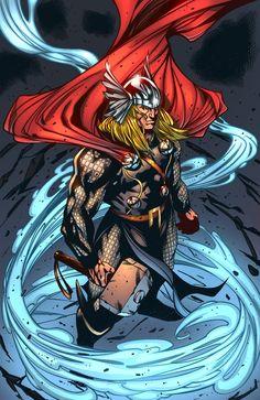 Thor by SiriusSteve@deviantART