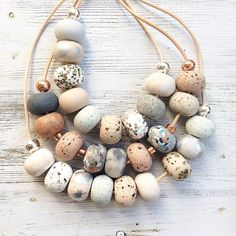 Limited Edition necklaces are in store at Ruby Blue Jewels. Loving the fresh neutrals, sandstone and pastel greys.