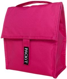 T Personal Cooler Lunch Bag Freeze And Go Poppy Pink Pack It Usa Design Freezer