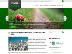 If you are a passionate photographer and love to capture a moment in photography then this super natural GTaste WordPress theme will delight you. It is developed in fresh colors to make your website look bright and simple. Social Bar, Seo Optimization, Online Web, Themes Free, Responsive Web Design, Super Natural, Premium Wordpress Themes, Bright, In This Moment