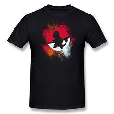 MKSD Funny Pokemon Charmander Design T-shirt For Men