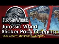 Jurassic World stickers are the next craze while the film is on general release. There's loads to collect and lets see what are first cards are.
