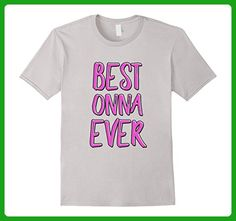 Mens Best onna ever grandmother shirt 3XL Silver - Relatives and family shirts (*Amazon Partner-Link)