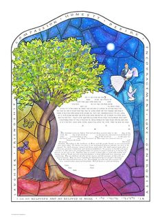 An interesting ketubah from a whole website devoted to ketubahs! And they have interfaith language!