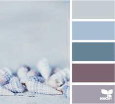 beach decor color palette -- love the purple with the blue
