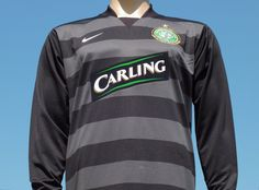 Celtic F.C. 2007-2008 Away Goalkeeper Shirt Player Issue