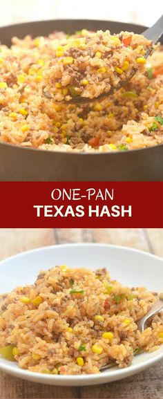 One-Pan Texas Hash w
