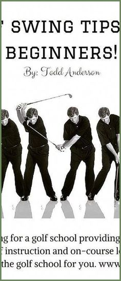 """Golf swing tips for beginners! Learn more on Todd's """"Fix Your Swing Fundamentals."""" paradisegolfacade... #choosinggolfclub 