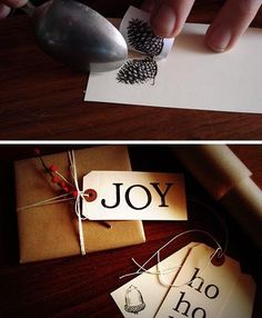 How-To: Blender Pen Gift Tags from Becka at Poppytalk
