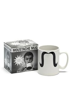Giant Moustache Mug - might be fun door prizes