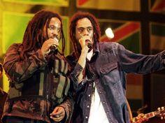 Stephen and Damian Marley.  Smile Jamaica.