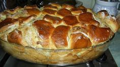 I really would like to see a Recipe in English for this. Ring Cake, Hungarian Recipes, English Food, Sweet Bread, Pound Cake, Banana Bread, Cake Recipes, Bakery, Food And Drink