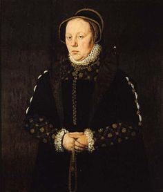 1553-1562 Adriaen van Cronenburg - Catarijna van Unema