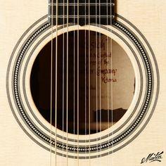 Maton EM100 Messiah 12-String Soundhole. #handmade #acoustic #guitar