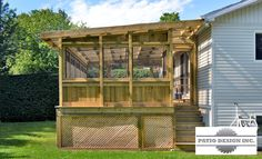 Treat yourself to a quiet spot and protect yourself from mosquitoes with a gazebo or pavilion built by Patio Design. Gazebo On Deck, Screened Gazebo, Screened Porch Designs, Backyard Gazebo, Corner Pergola, Backyard Privacy, Pergola Shade, Patio Roof, Back Patio