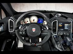 2011 Mansory Porsche 958 Cayenne Broad Version - Dashboard 2