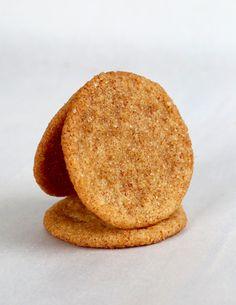 Gluten Free Snickerdoodle Cookie Chips. ☀CQ #glutenfree