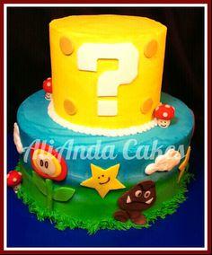 Super Mario Bros cake.
