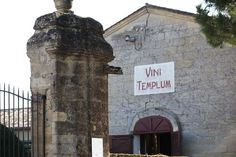 Vini Templum at #chateausaintgeorges #saintgeorges