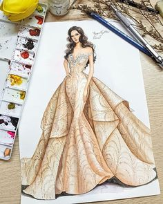 You are in the right place about fashion sketches dresses Here we offer you the most beautiful pictu Dress Design Drawing, Dress Design Sketches, Fashion Design Sketchbook, Dress Drawing, Fashion Design Drawings, Wedding Dress Sketches, Art Sketchbook, Fashion Model Sketch, Fashion Models