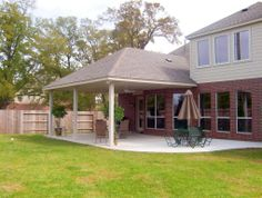 Covered Patio Idea Looks Very Doable For Ordinary Home Owners Extending Area Beyond