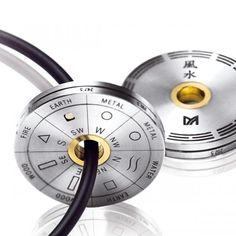 MEISTER Pendants-Amulettes 405 - Mens-Collection titanium / yellowgold | MEISTER