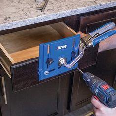 New Kreg Cabinet Hardware Jig Makes Installing Hardware Easier | Ana White DIY Projects