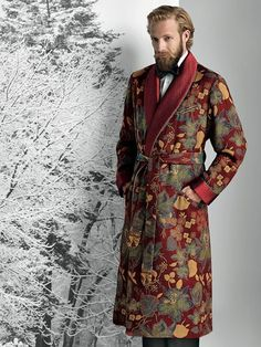 Paul Stuart holiday…That robe is the stuff that dreams are made of..