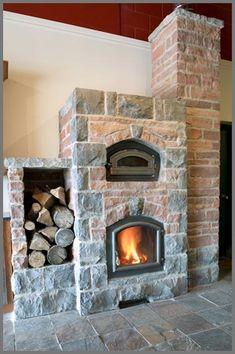 Temp-Cast masonry heaters, masonry stoves and masonry heaters with bake ovens