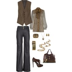 """another day at the office..."" by stacychidaushe on Polyvore"