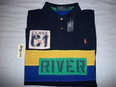 POLO RALPH LAUREN CUSTOM FIT PATCH RUGBY_WILD RIVER GUIDE SHIRT_RAFT KAYAK CANOE