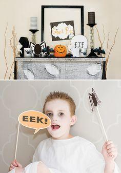 Festive Ghostly Affair {Halloween Party Ideas For Kids}