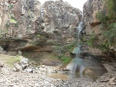 Waterfall in Lesotho by Nomad Africa Adventure Tours, via Flickr   --- We hiked down to this waterfall!!