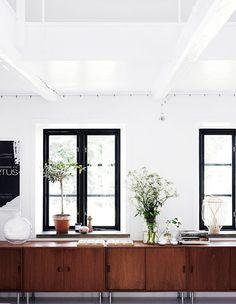 white, black, brown. | Scandinavian Retreat: Villa Villekulla