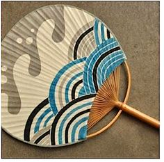 Japanese summers pretty much require the use of a lovely fan such as this one. Uchiwa