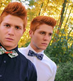 Julien and Iosu Martinez. Now these are the guys who should've played the Weasley twins.