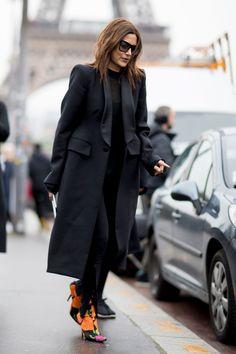 Paris Fashion Week Fall 2017 Street Style Day 7 - The Impression