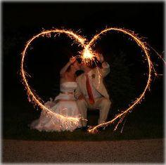 wedding photos with sparklers | Wedding Sparklers, Poppers & Sky Lanterns