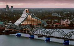 National Library of Latvia, Riga - 25 New Tourist Attractions Worth Adding to Your Bucket List | Travel + Leisure