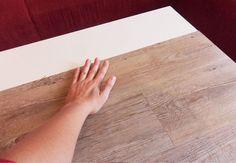 Ikea Couchtisch Lack aufmöbeln oder wenn Kinder in Möbel beißen