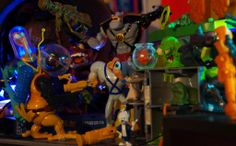 Earthworm Jim Action Figures - Playmates 1995 the LOCR collection