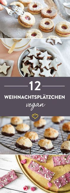 Knuspern mit gutem Gewissen: Ob glutenfrei oder ohne Zucker - diese veganen Plätzchen versüßen dir den Advent mit vielen himmlischen Leckereien.