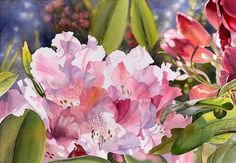 Watercolor by Marney Ward