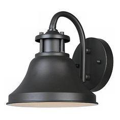 "Bayport Collection Dark Sky 7 3/4"" High Outdoor Wall Light - #M5911 | LampsPlus.com"