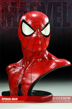 Spider-Man Legendary Scale™ Bust - Sideshow Collectibles - SideshowCollectibles.com